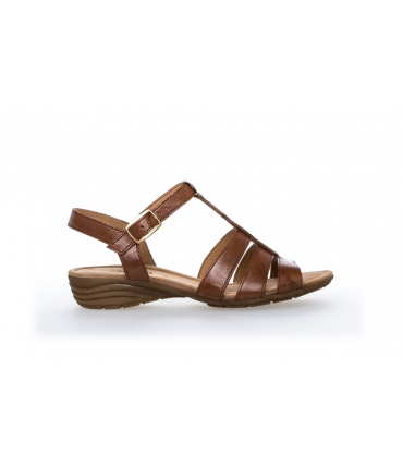 Chaussures nu-pieds Marron