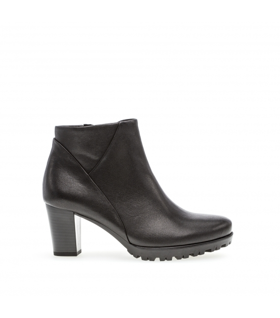 Bottines ville noires