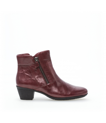 Bottines rouges