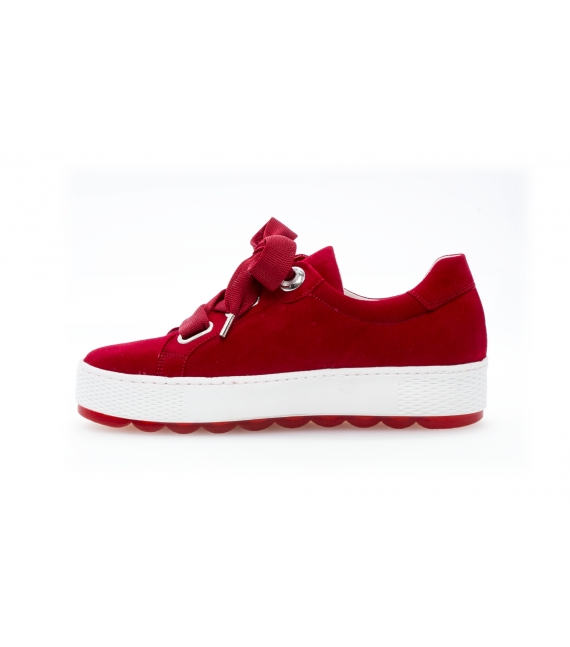 Sneakers mode rubis