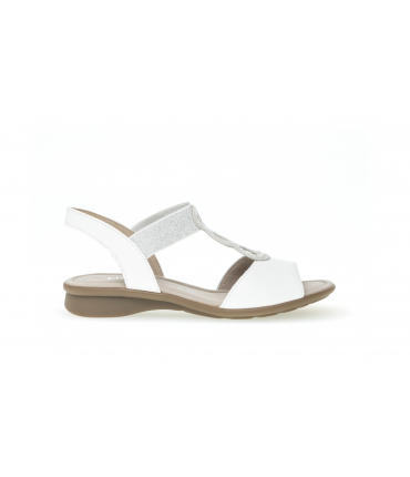 Sandales confort blanches