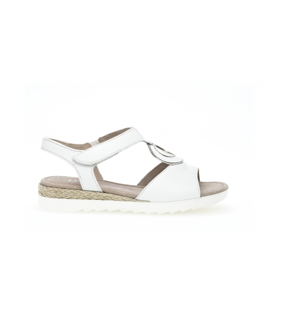 Sandales blanches