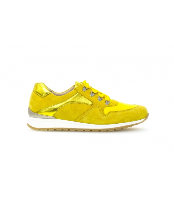 Baskets jaune citron