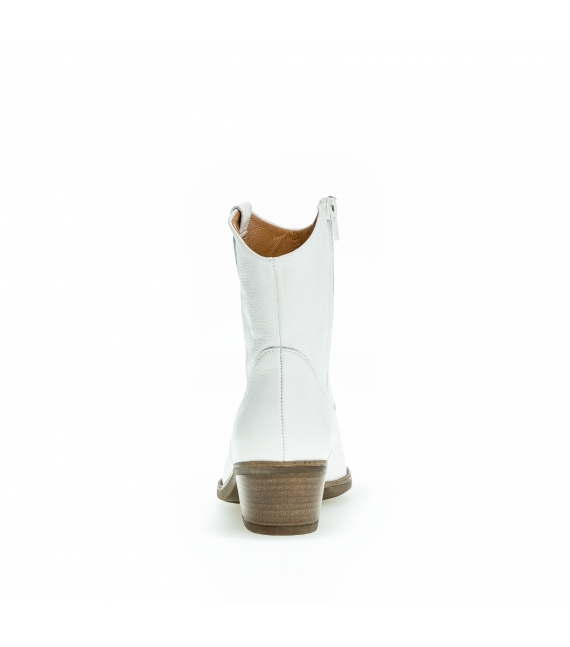 Bottines santiag blanches