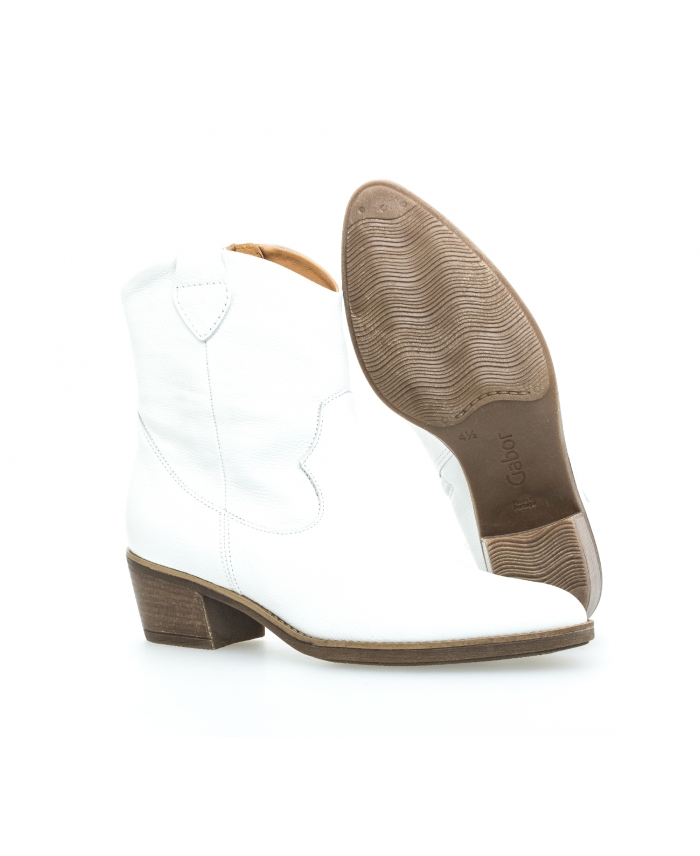 Bottines blanches Gabor santiag blanches Bottines Bottines santiag Gabor blanches santiag SVGjqpLMUz