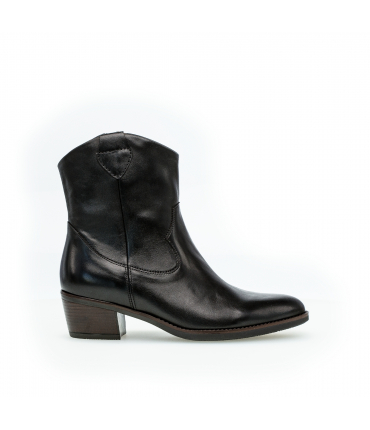 Bottines santiag noires