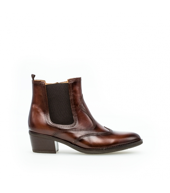 Bottines santiag marron