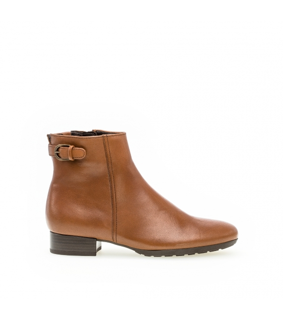 Bottines confort marron