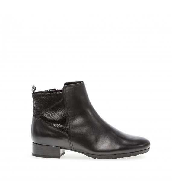 Bottines confort noires