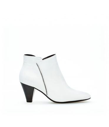 Bottines modernes blanches