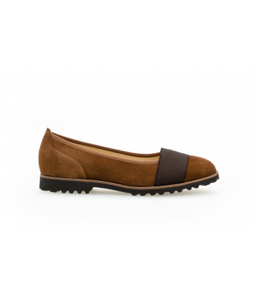 Ballerines modernes marron