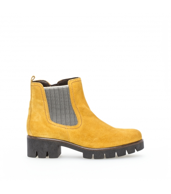 Bottines jaunes