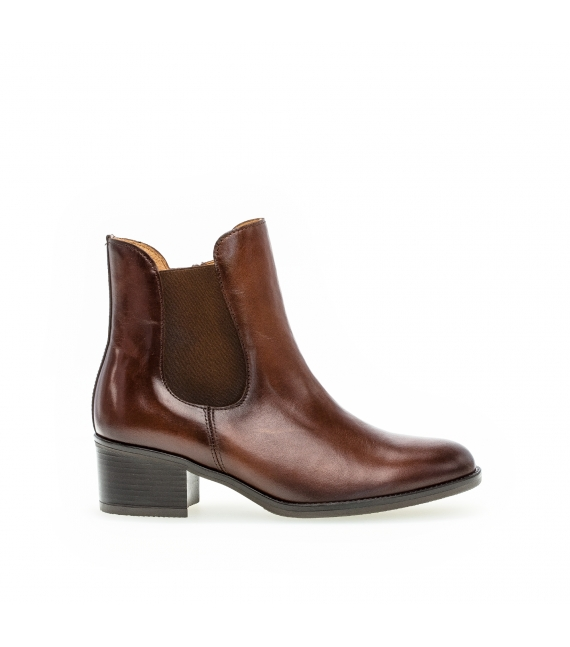 Bottines modernes marron