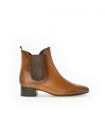 Bottines marron