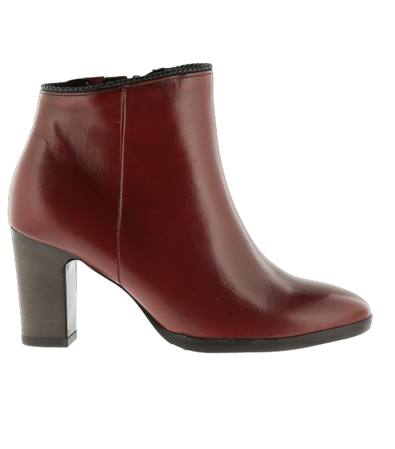 Bottines ville rouges