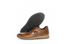 Baskets homme marron