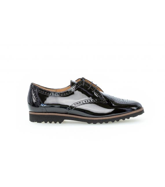 Derbies vernis noirs