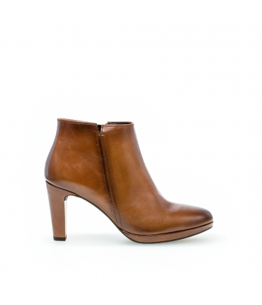 Low boots marron