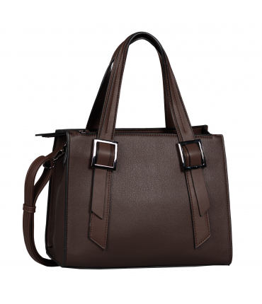 Sac shopping LENE dark brown