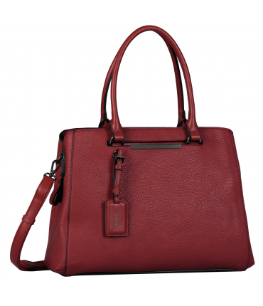 Sac shopping LORA dark red